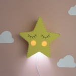 Yellow star light