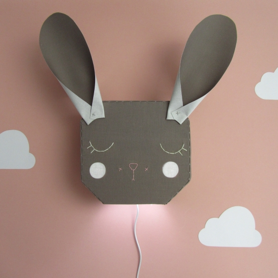 Bunny Rabbit Light House of Clouds